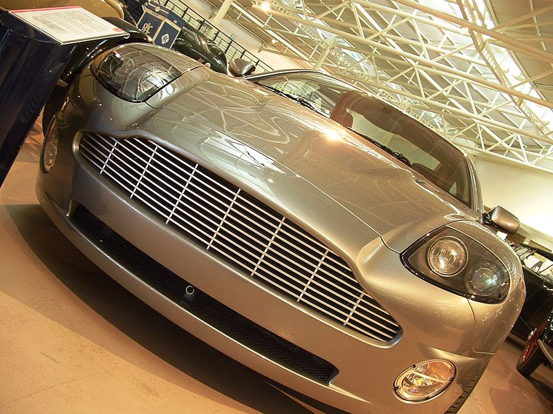 Aston Martin V12 Vanquish as part of the collection