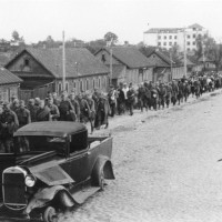 Russland, Minsk, gefangene sowjetische Soldaten
