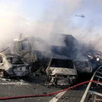 FRANCE CAR CRASH