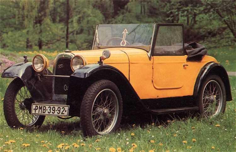 1929.Aero 10 Kabrio