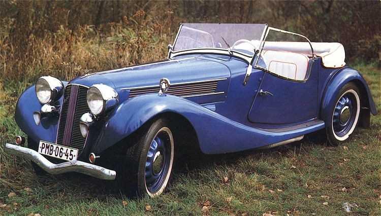 1936.Aero 50 Roadster
