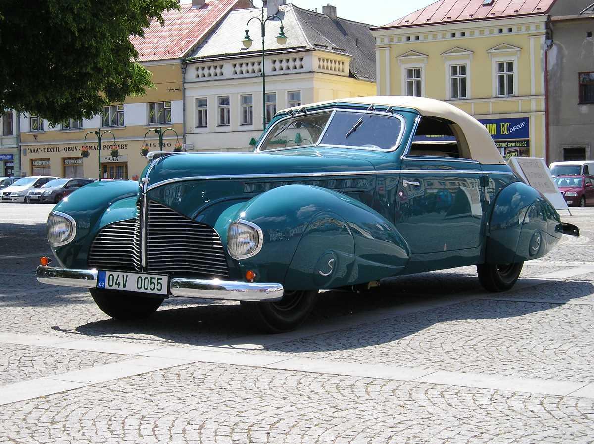 1938-1941.Aero 50 Dynamik Cabriolet Sodomka