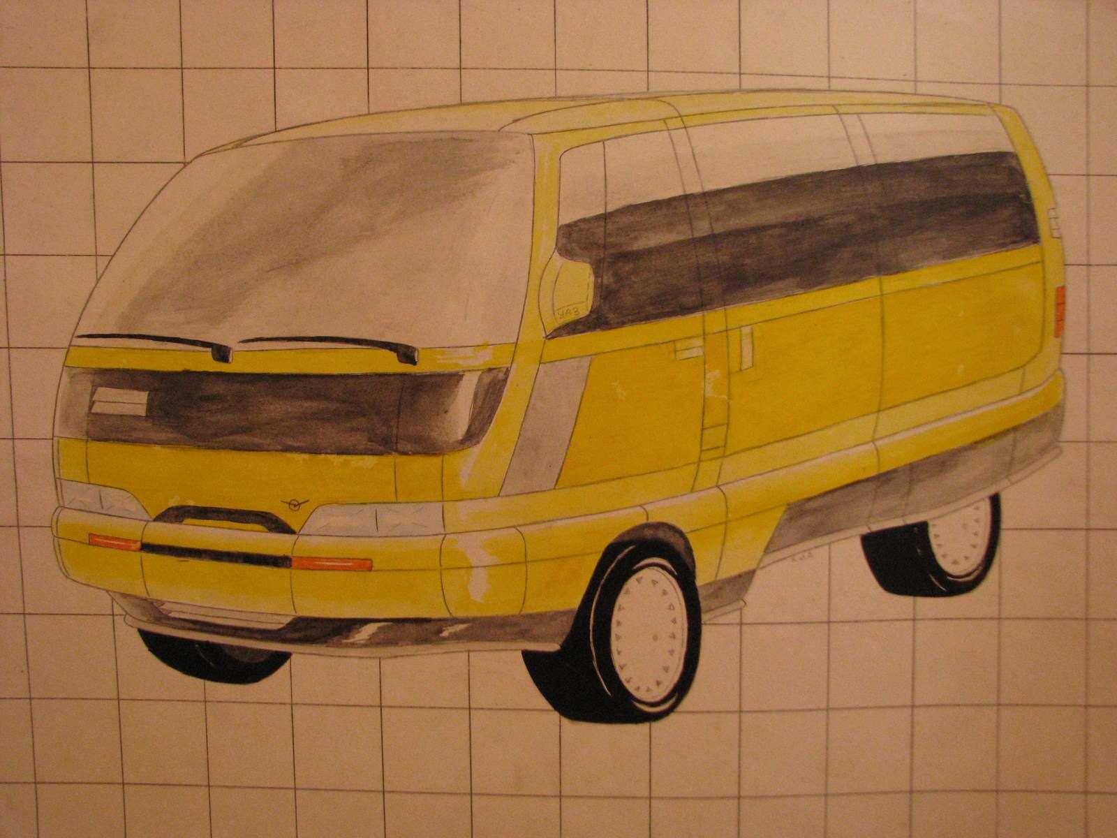 1989. UAZ Concept