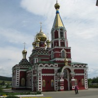 Монастырь под Ижевском
