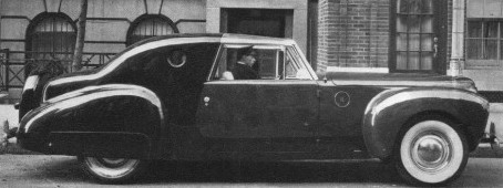 Личное авто Раймонда Лоуи.