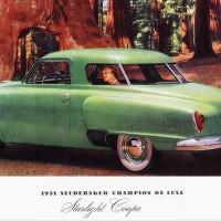 1951. Studebaker Champion De Luxe