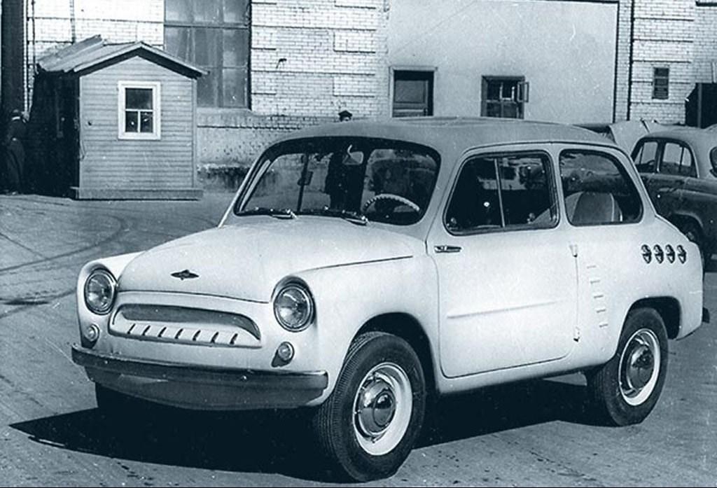1958. MZMA Moskvich 444 (Concept)