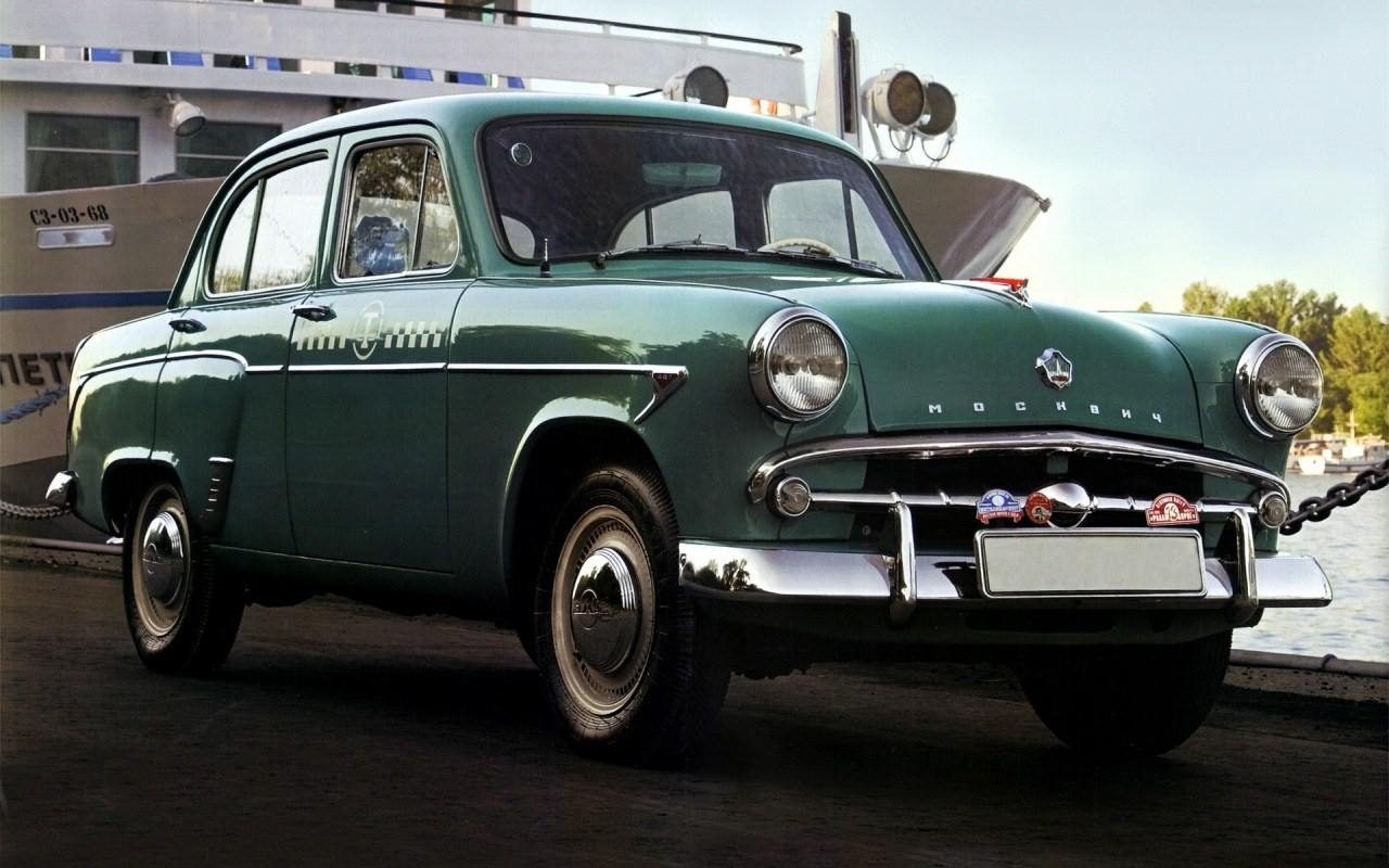 1958-1963. Moskvich 407T