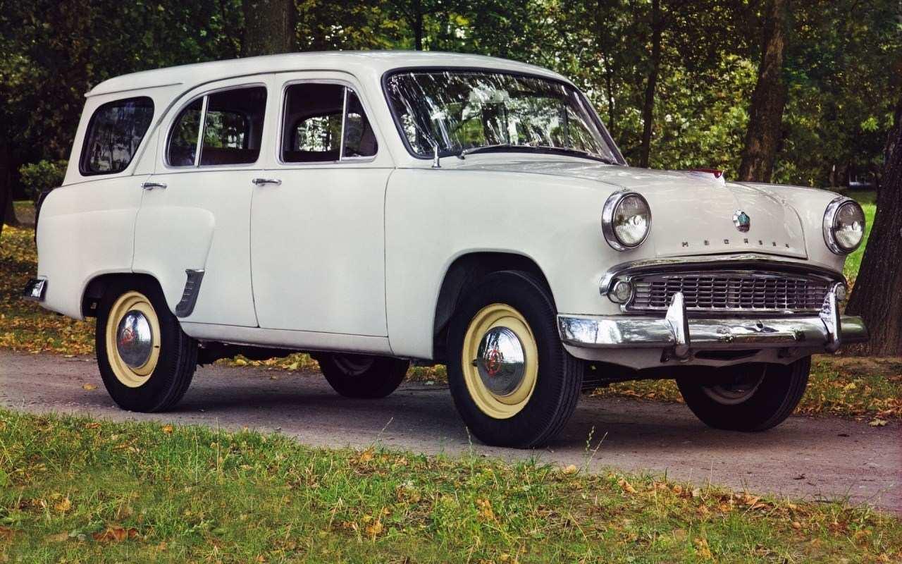 1958-1963. Moskvich 423N