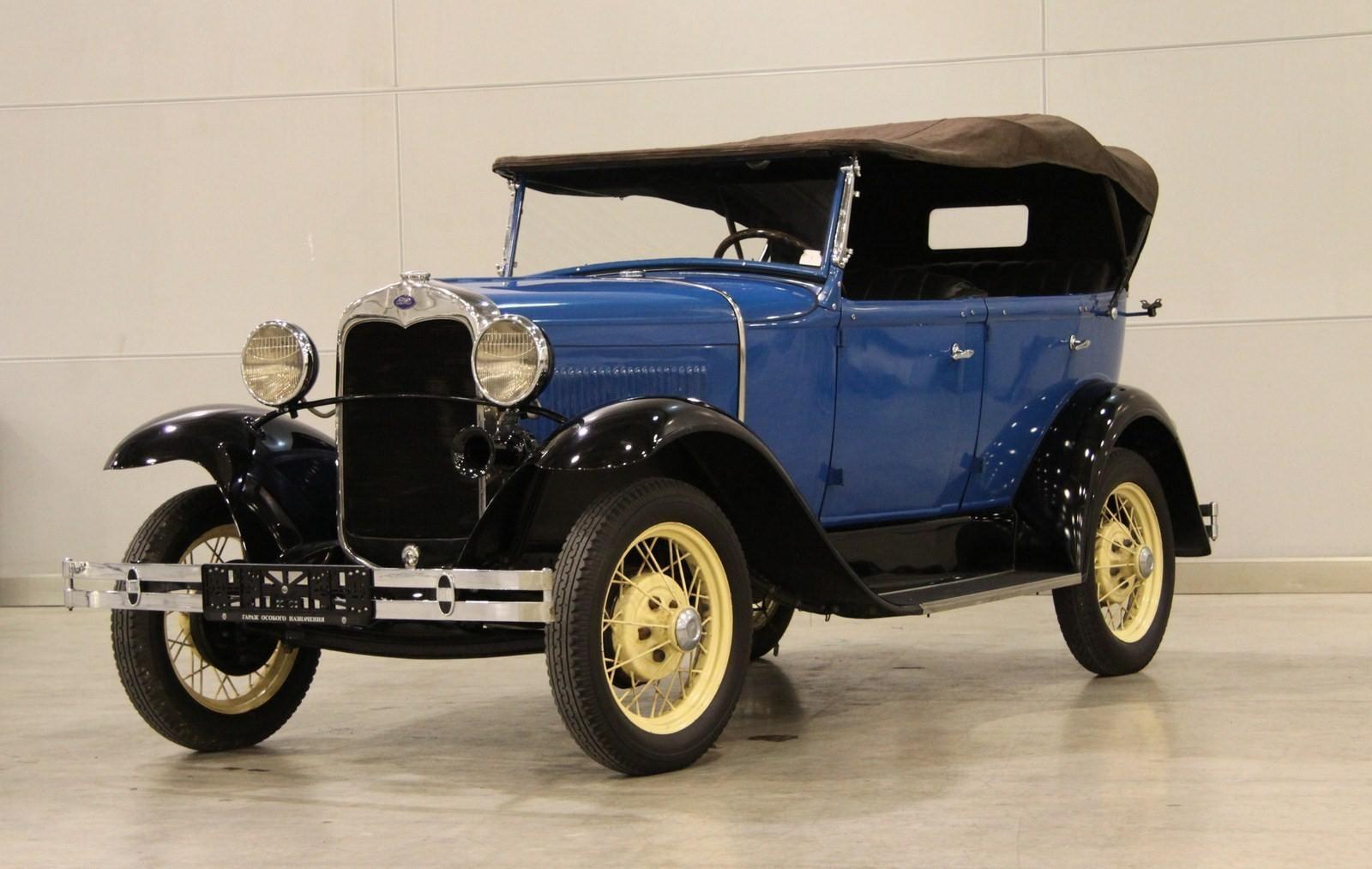 1930-1933. КIМ Ford-A Standart Phaeton