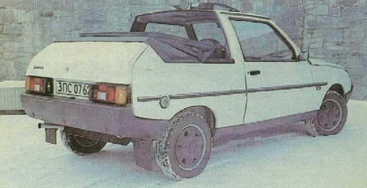 1992. ZAZ 110260 Cabrio (Concept)