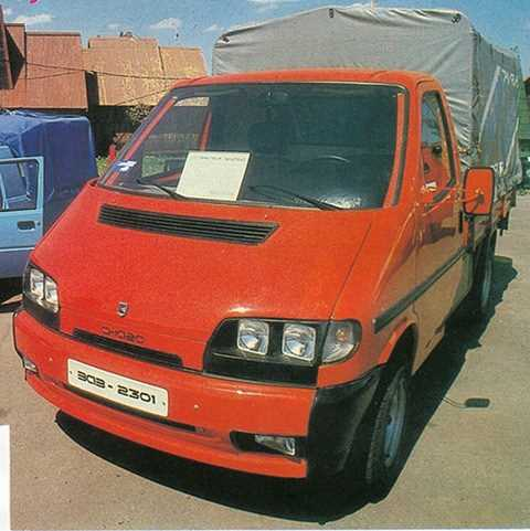 1995. ZAZ 2301 Снага (Concept)