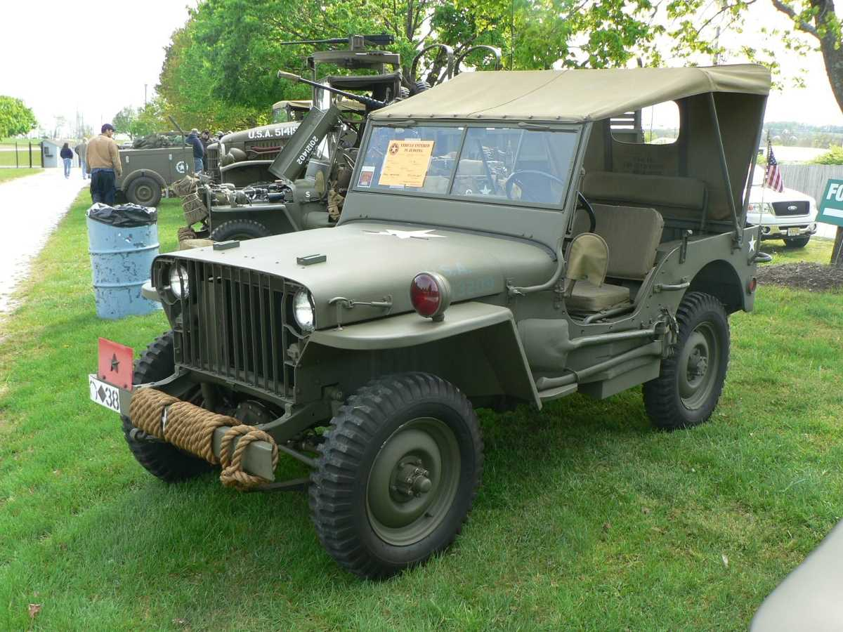 1942. Willys MB Slat-Grille