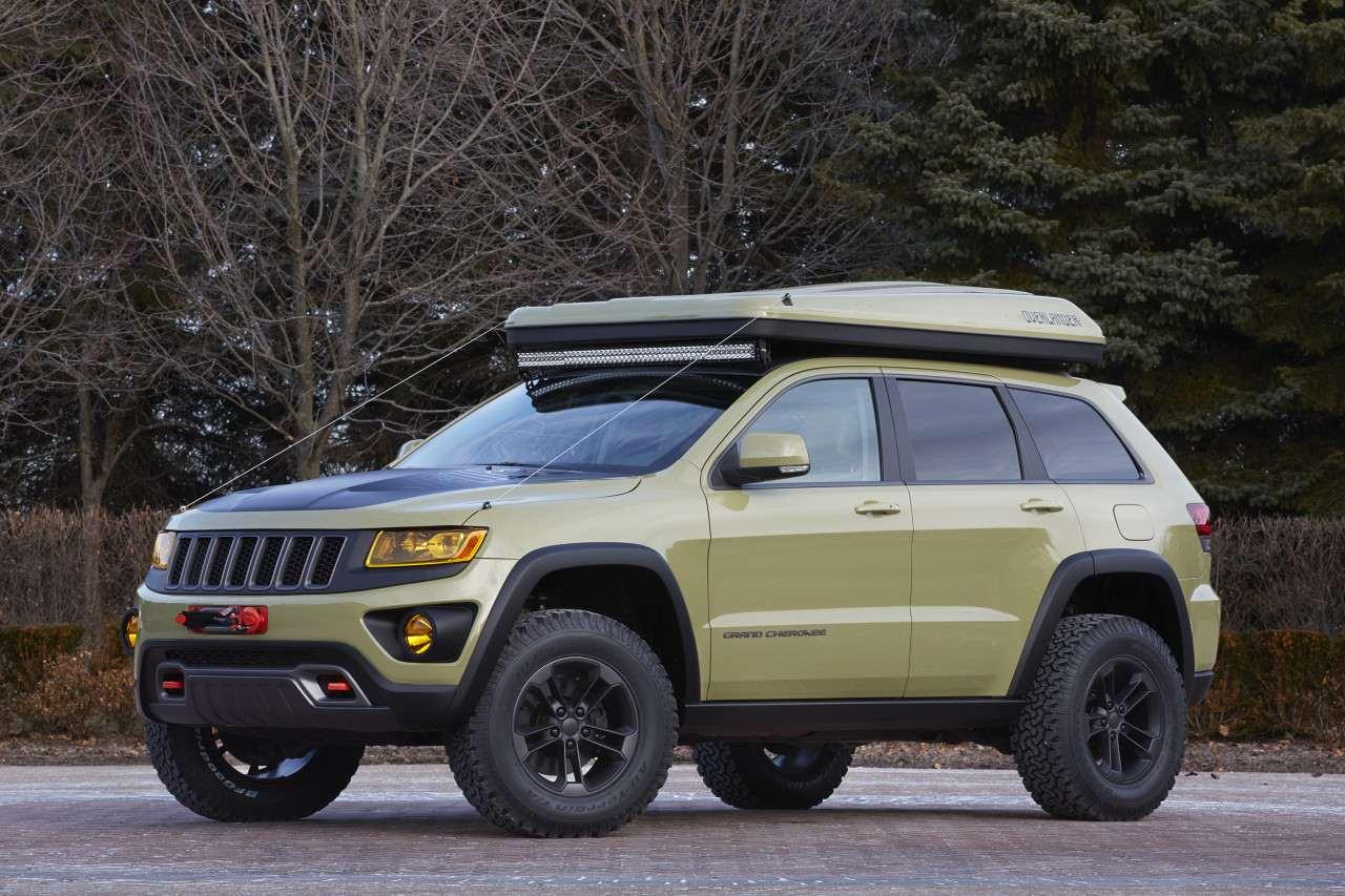 2015. Jeep Grand Cherokee Overlander (Concept)