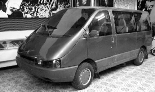 1991. AZLK 3733 (Concept)