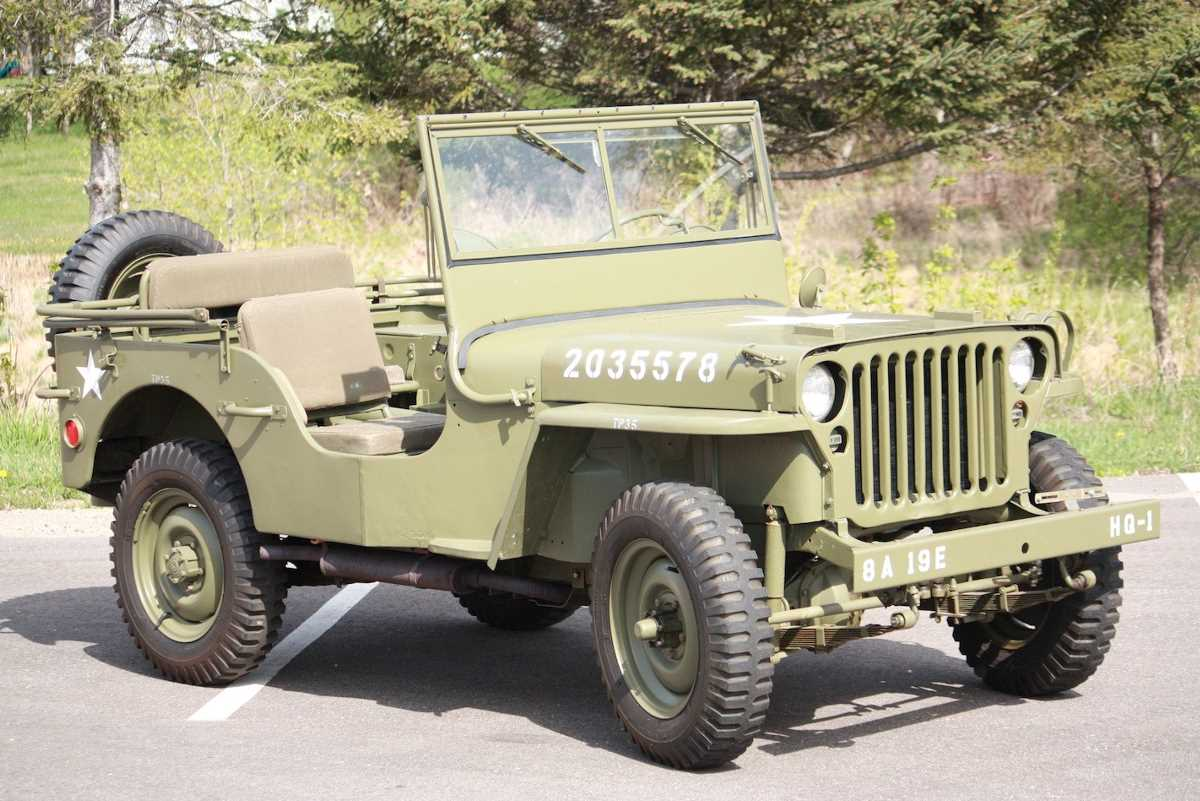 1941-1945. Willys MB