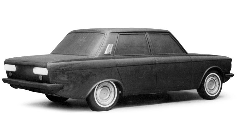 1969-1970. AZLK Moskvich 3-5 (Concept)