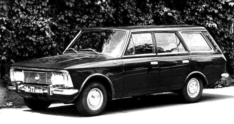 1970. AZLK Moskvich 3-5-3 Wagon (Concept)