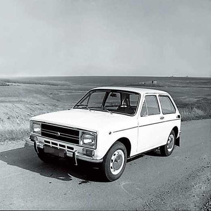 1975. ZAZ 1102 (Concept)