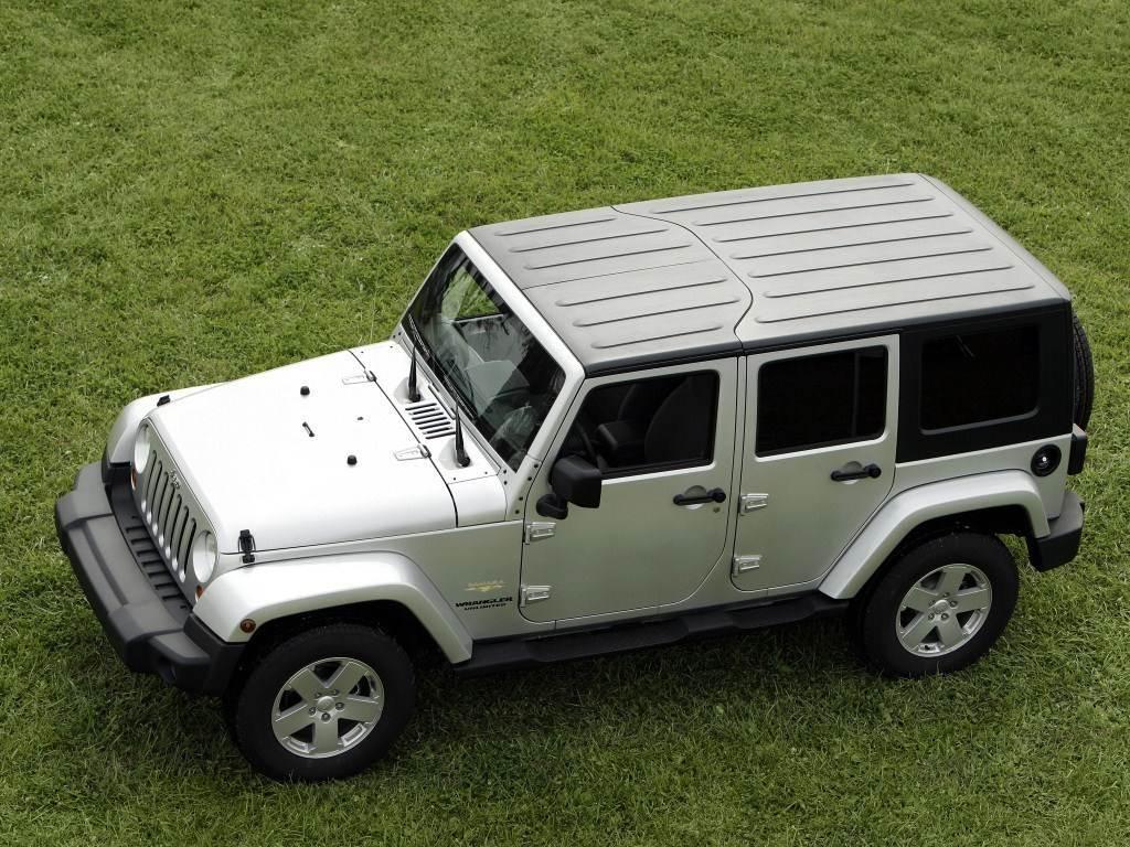 2007-2010. Jeep Wrangler Unlimited Sahara EU-spec (JK)