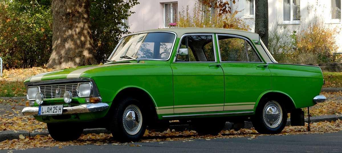 1969-1975. AZLK Moscvich 412