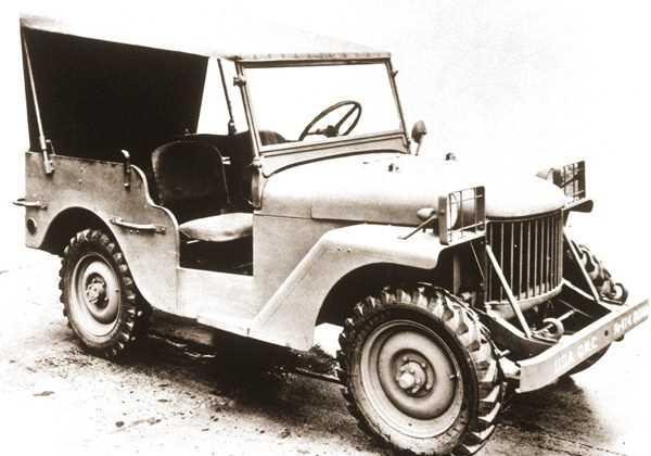 1940. Willys Quad