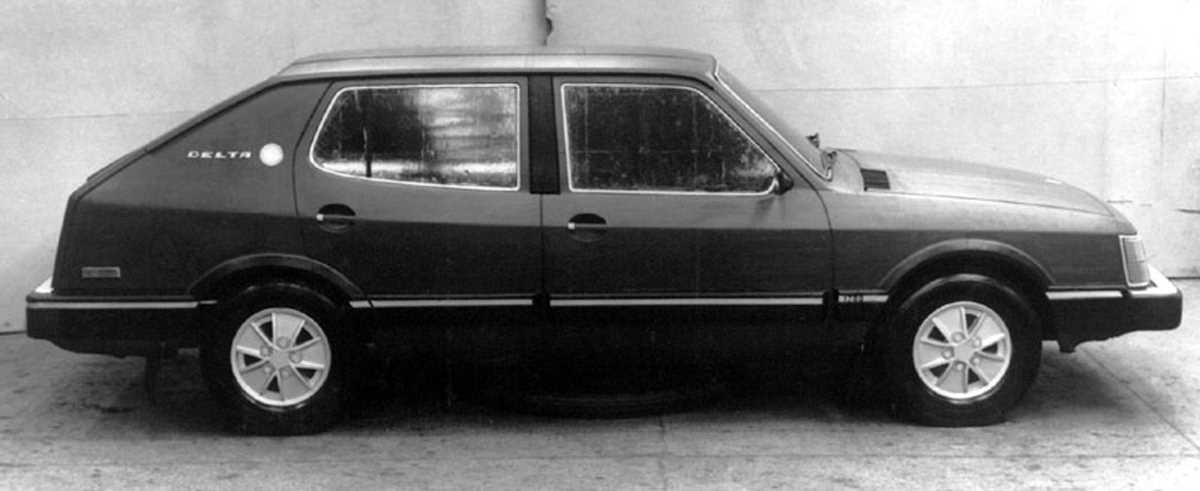 1974. AZLK Moskvich Delta (Concept, maket)