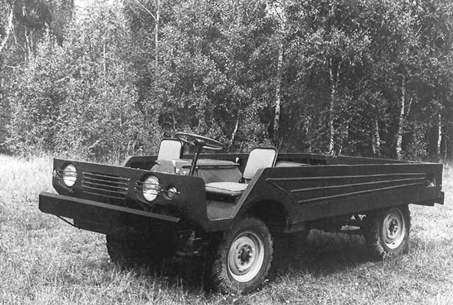 1959. MZMA Moskvich Transporter (Concept)