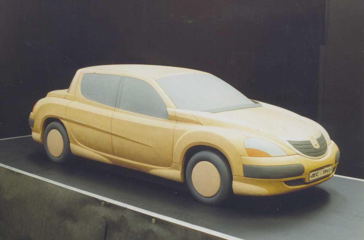 1998. AZLK Moskvich 2143 (Concept , eskiz)