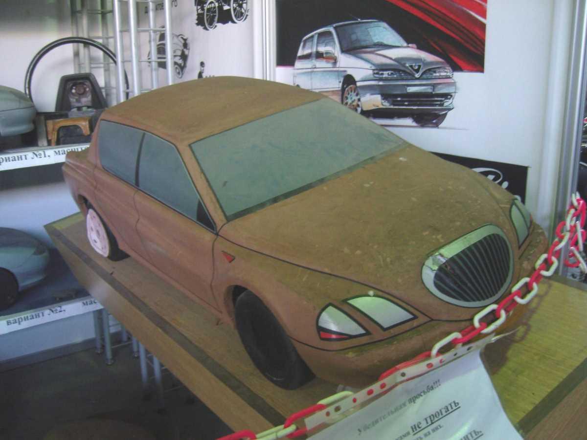 2000. AZLK Moskvich X1 (Concept , maket)
