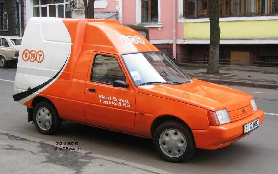 1992-2011. ZAZ 11055 Pick-Up