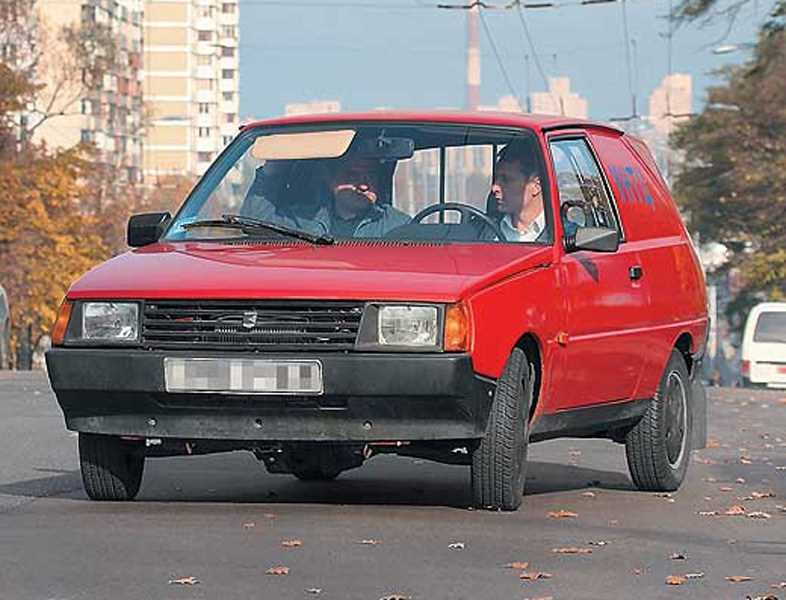 1991-1995. ZAZ 1109 (Concept)