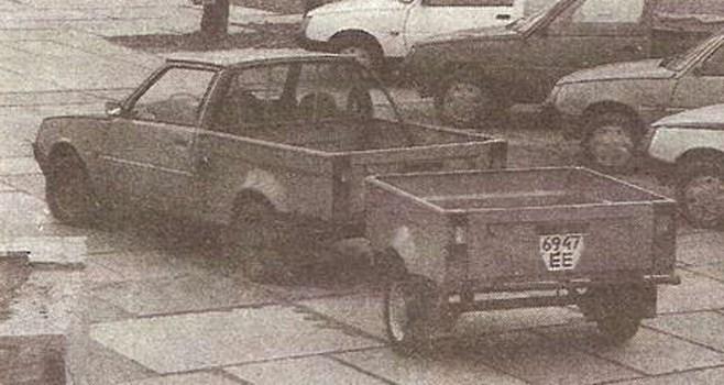 1990. ZAZ 1305 (Concept)