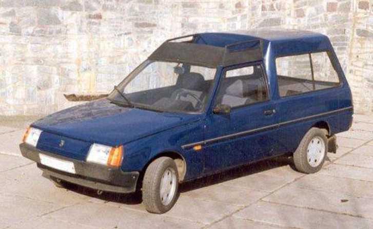 1988. ZAZ 1701 (Concept)