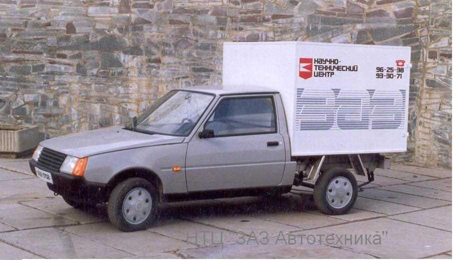 1992. ZAZ 1702 (Concept)