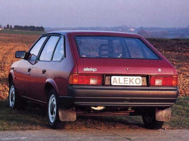 1991-1992. AZLK Aleko S