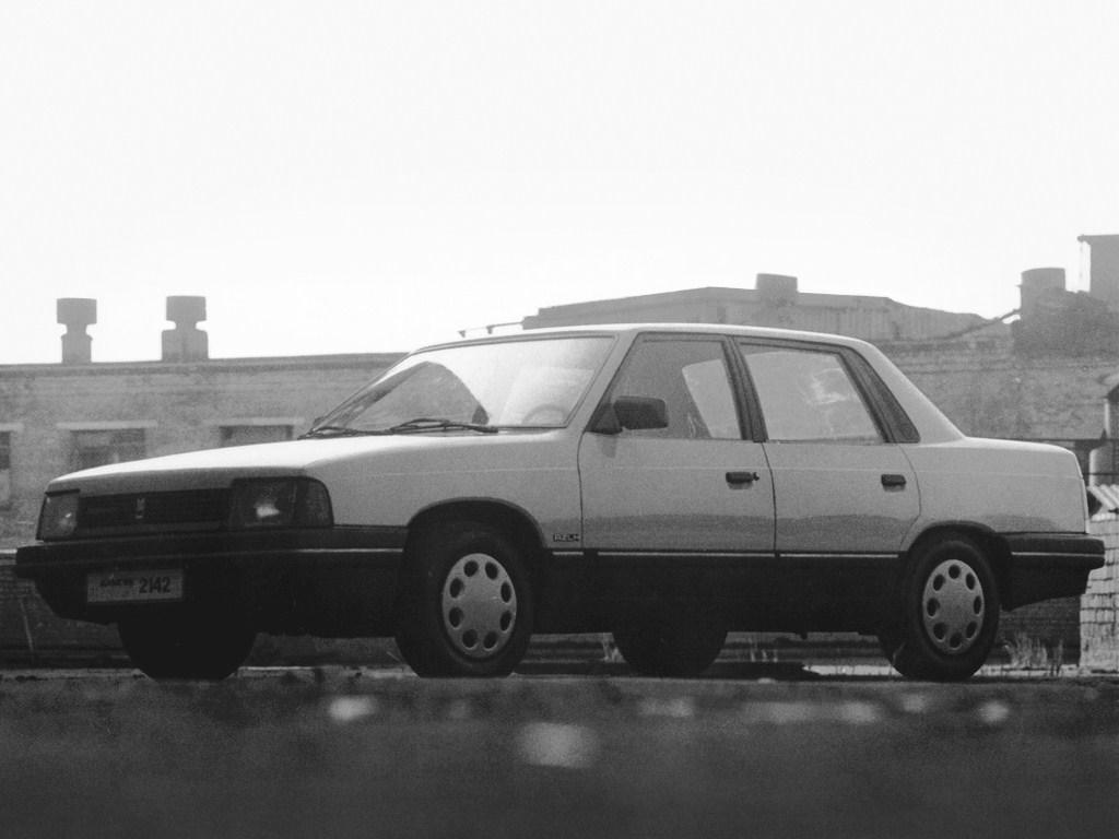 1990-1995. AZLK Moskvich 2142 Aleko (Concept)