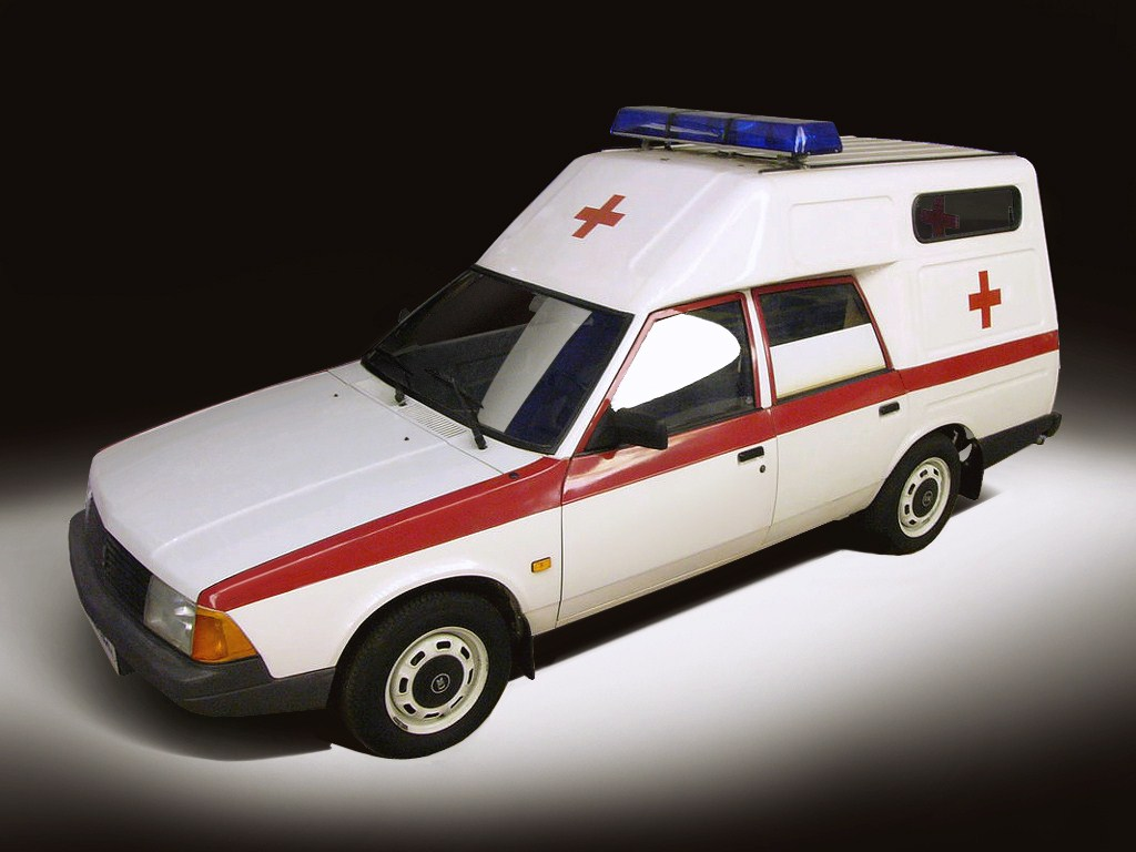 1994-1996. AZLK Moskvich 2901