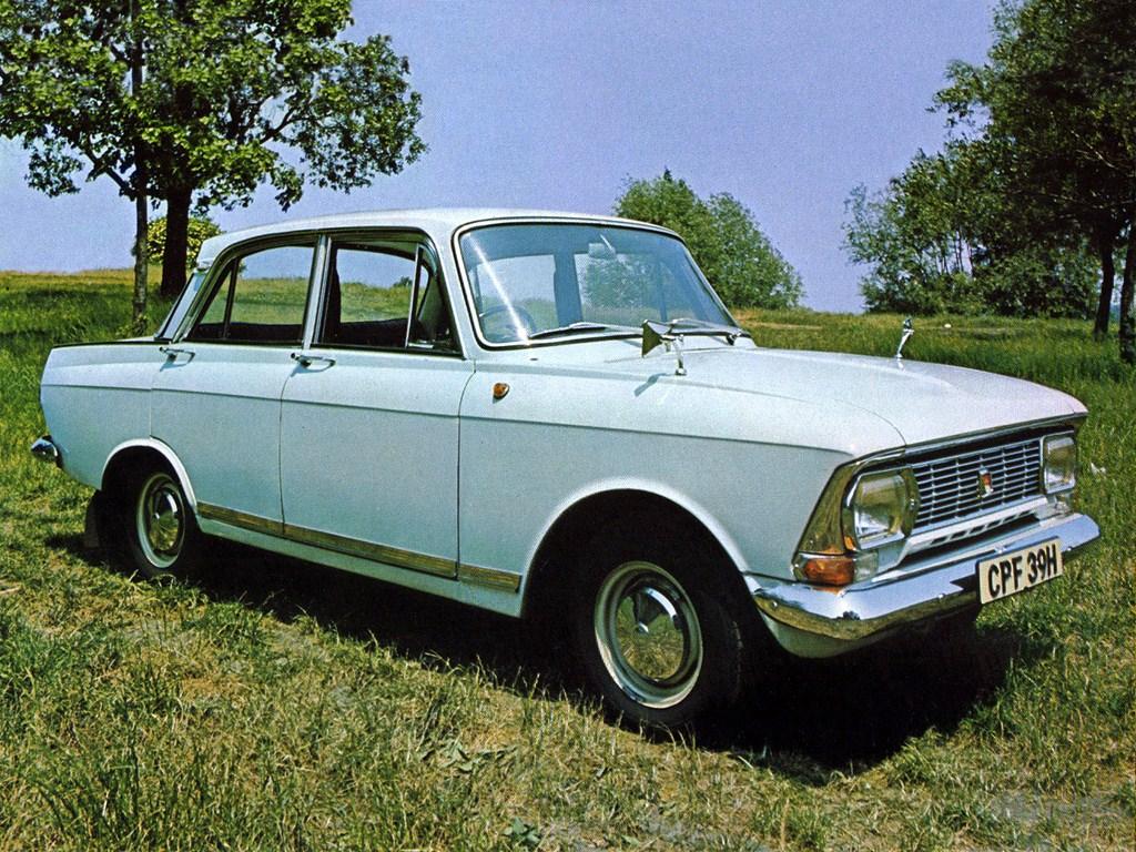 1970-1975. AZLK Moskvich 412P