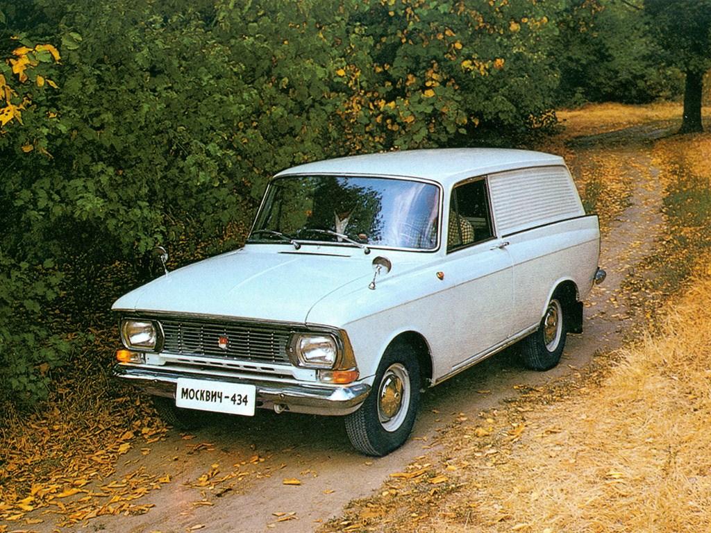 1969-1975. AZLK Moskvich 434