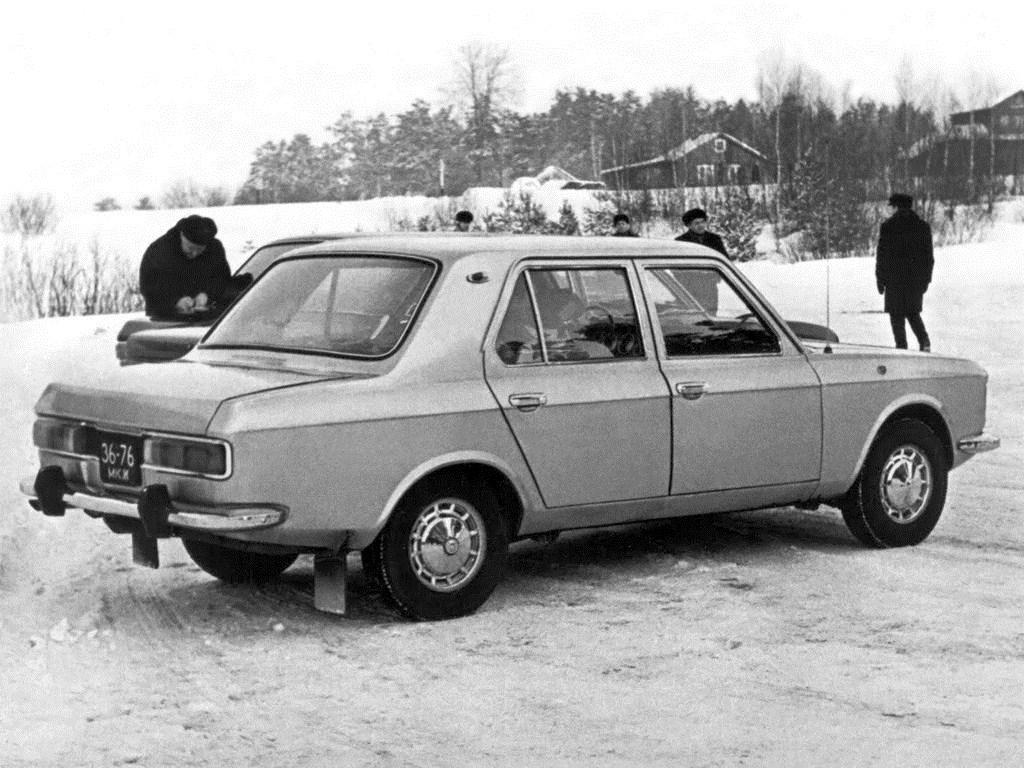 1972. AZLK Moskvich 3-5-5 (Concept)
