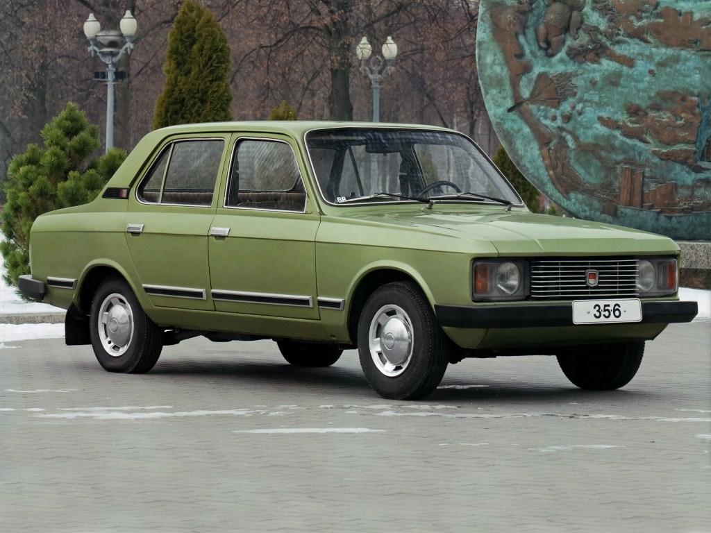 1973. AZLK Moskvich 3-5-6 (Concept)