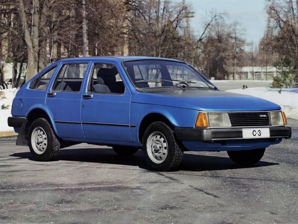1976. AZLK Moskvich C3 Meridian 1700 SL (Concept)