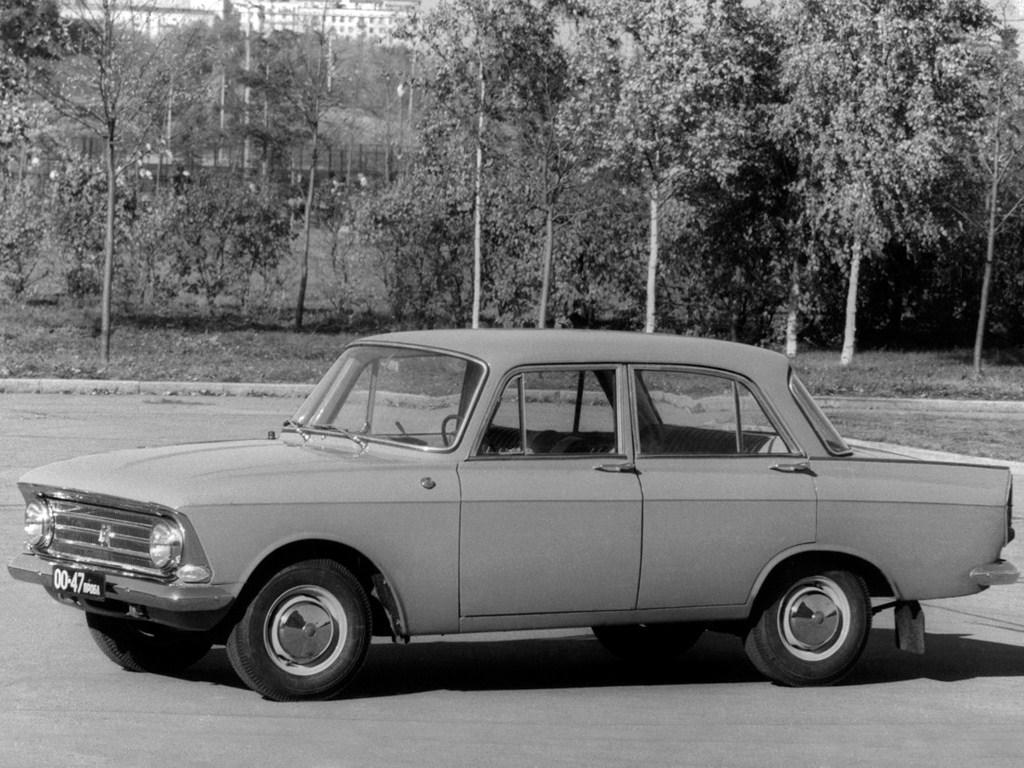 1964-1968. MZMA Moskvish 408
