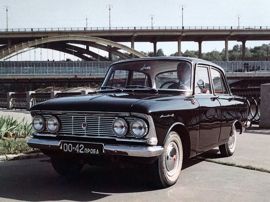 1961-1963. MZMA Moskvich 408 (Concept)