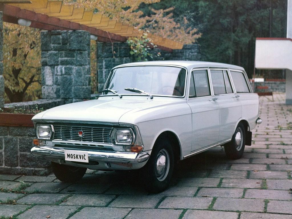 1967-1976. AZLK Moscvich 427