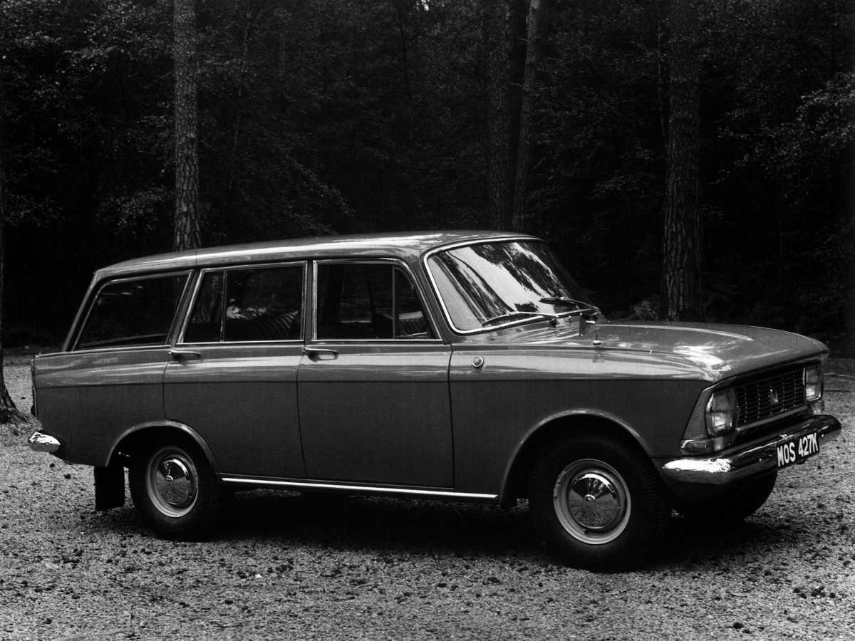 1970-1975. AZLK Moskvich 427P