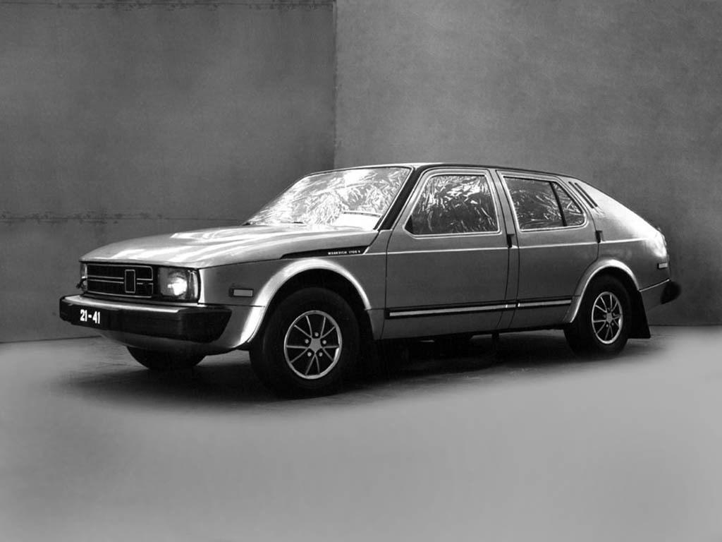 1975. AZLK Moskvich C1 Meridian 1700TS (Concept)