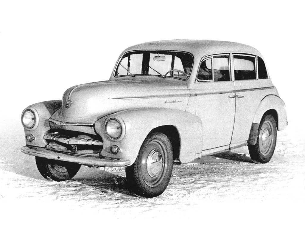 1949. MZMA Moskvich 403E-424E (Concept)