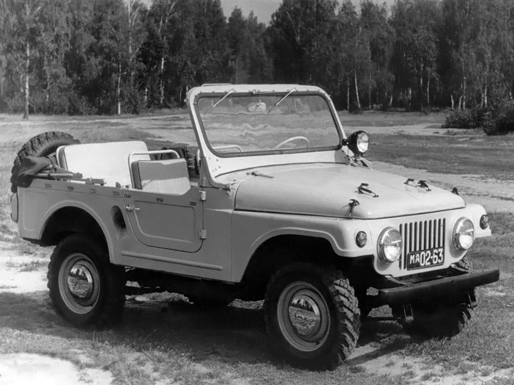 1960. MZMA Moskvich 415 (Concept)